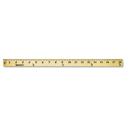 Wood Yardstick With Metal Ends, 36