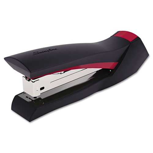 SMOOTHGRIP STAPLER, 20-SHEET CAPACITY, BLACK/RED