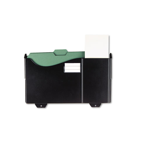Image for Add-On Pocket For Grande Central Filing System, Plastic, Black