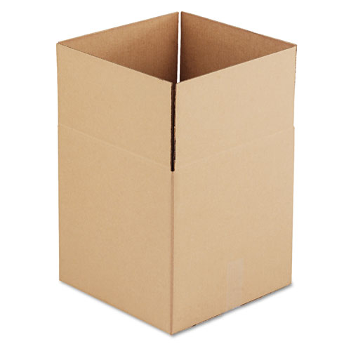 Image for CUBED FIXED-DEPTH SHIPPING BOXES, REGULAR SLOTTED CONTAINER (RSC), 14' X 14' X 14', BROWN KRAFT, 25/BUNDLE