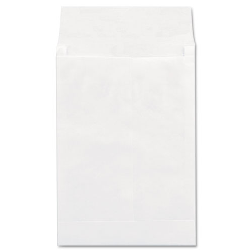 Image for DELUXE TYVEK EXPANSION ENVELOPES, #13 1/2, SQUARE FLAP, SELF-ADHESIVE CLOSURE, 10 X 13, WHITE, 100/BOX